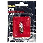 image of Halfords Bike it Motorcycle Bulb HMB418 12V 23W
