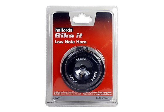 Halfords Bike it Low Note Motorcycle Horn