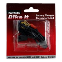 Halfords Bike it Motorcycle Battery Charger Connector Lead