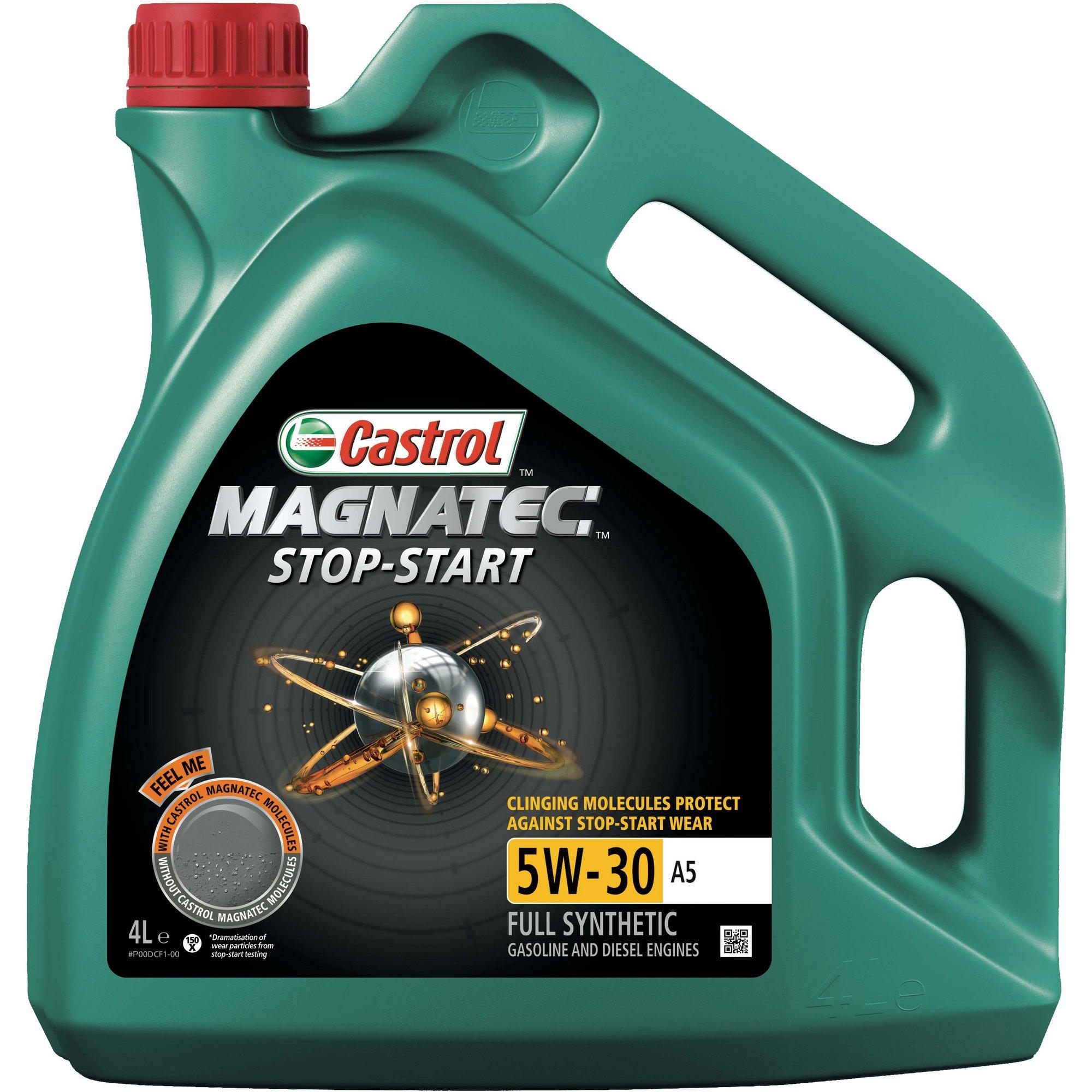 castrol magnatec 5w 30 a1 fully synthetic oil 4 liter ebay. Black Bedroom Furniture Sets. Home Design Ideas