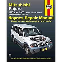 image of Mitsubishi Pajero (97 - 05) (Australian)