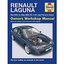 image of Haynes Renault Laguna (Feb 01 - May 07) Manual