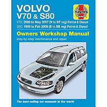 image of Haynes Volvo V70/S80 (98-07) Manual