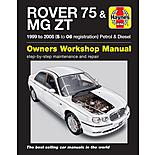 Haynes Rover 75/MG ZT (Feb 99 - 06) Manual