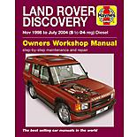 Haynes Land Rover Discovery (Nov 98 - Jul 04) Manual
