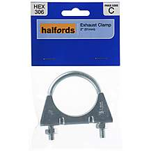 image of Halfords Exhaust Clamp HEX306 50mm