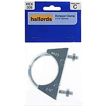 image of Halfords Exhaust Clamp HEX308 57mm
