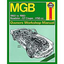 image of Haynes MGB (62 - 80) Manual