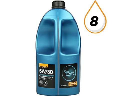 Halfords 5W30 Fully Synthetic VW/Audi Oil 5L