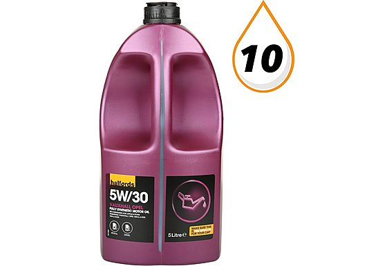 Halfords 5W30 Vauxhall/Opel GM Fully Synthetic Oil 5L