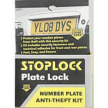 image of Stoplock Number Plate Lock Kit
