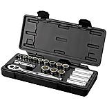 Halfords Advanced Professional 18 Piece Socket Set 3/8""