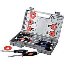 "image of Halfords Advanced ""Pound Through"" Screwdriver Set"