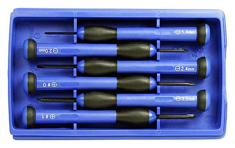 image of Halfords 6 piece Precision Screwdriver Set
