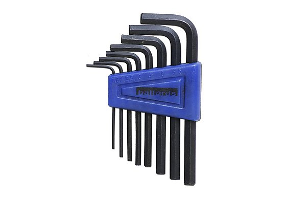 Halfords Metric 8 piece Hex Key Set