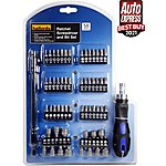 image of Halfords 58 piece Ratchet Screwdriver & Bit Set