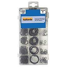 image of Halfords Assorted Internal Circlips