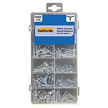 image of Halfords Screws, Nuts and Washers