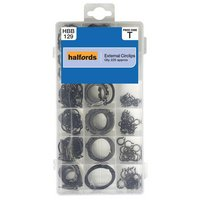 Halfords Assorted External Circlips