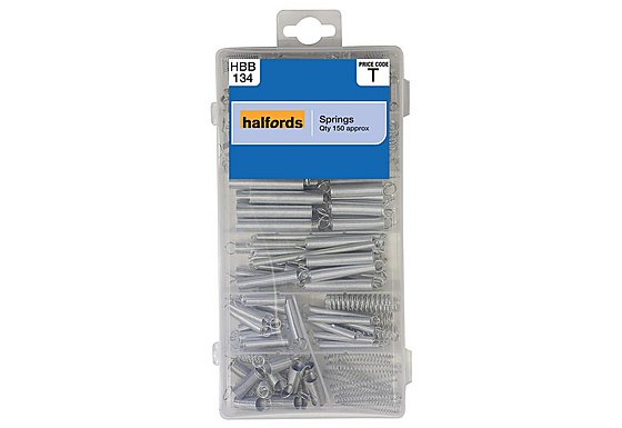 Halfords Assorted Springs