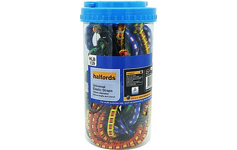 image of Halfords Assorted Luggage Straps 12 x 10mm