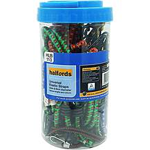 image of Halfords Assorted Luggage Straps 20 x 4/8mm