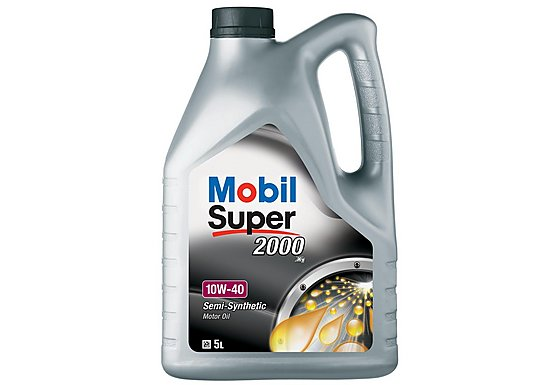 Mobil Super 2000 X1 10W/40 Oil 5L