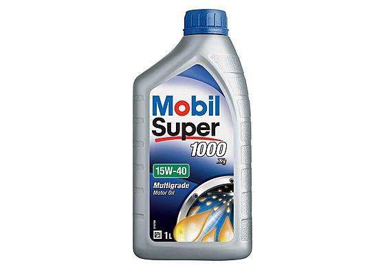 Mobil Super 1000 X1 15W/40 Oil 1L