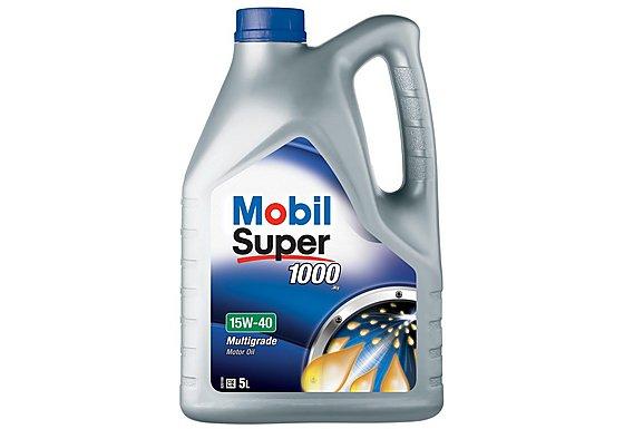Mobil Super 1000 X1 15W/40 Oil 5L