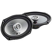 "image of Alpine 6x9"" Coaxial 2-Way Blue Titanium Speakers"