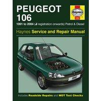 Haynes Peugeot 106 (91 - 02) Manual