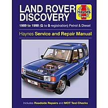 image of Haynes Land Rover Discovery (89 - 98) Manual