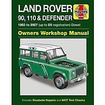 image of Haynes Land Rover 90, 110 & Defender (83 - 07) Manual