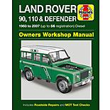 Haynes Land Rover 90, 110 & Defender (83 - 07) Manual