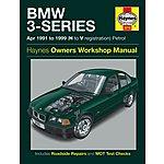 image of Haynes BMW 3 Series (Apr 91 - 99) Manual