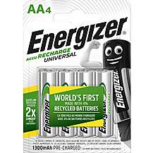 image of Energizer AA Rechargeable 1300mah Battery Pack