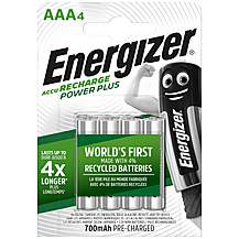 image of Energizer AAA Rechargeable 700mah Battery Pack