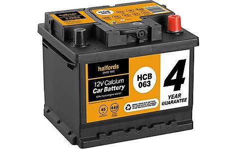 image of Halfords Calcium Battery HCB063 - 4 Yr Guarantee
