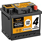 image of Halfords Calcium Battery HCB063 - 4 Yr Guarantee