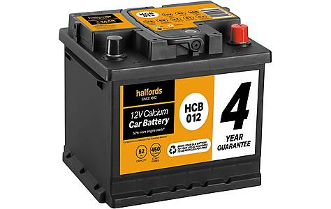 image of Halfords Calcium Battery HCB012