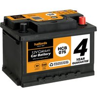 Halfords Calcium Battery HCB075