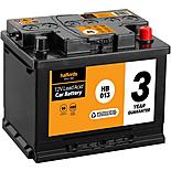 Halfords Lead Acid Battery HB013 - 3 Yr Guarantee