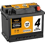 Halfords 4 Year Guarantee HCB013 Calcium 12V Car Battery