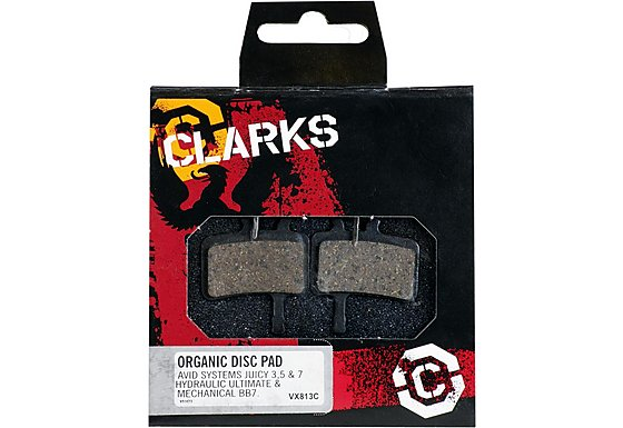 DBP VX813C Avid Juicy 3/5/7 & BB7 Organic Disc Brake Pads