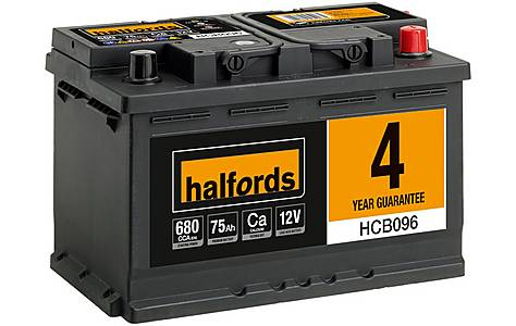 image of Halfords Calcium Battery HCB096