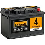 image of Halfords Calcium Battery HCB096 - 4 Yr Guarantee