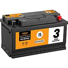 image of Halfords 3 Year Guarantee HB110 Lead Acid 12V Car Battery
