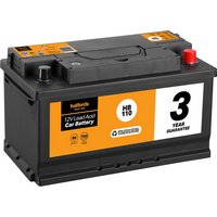 Halfords Lead Acid Battery HB110