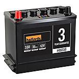Halfords Lead Acid Battery HB038 - 3 Yr Guarantee