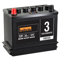 Halfords Lead Acid Battery HB038 - 3 Yr Guarantee